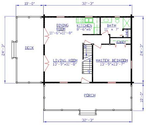 Ms Log Cabin Floorplan 10