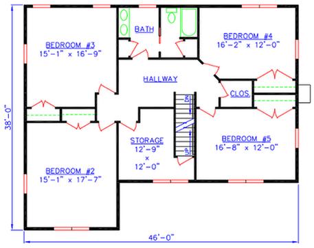 the chattanooga luxury farmhouse floorplan