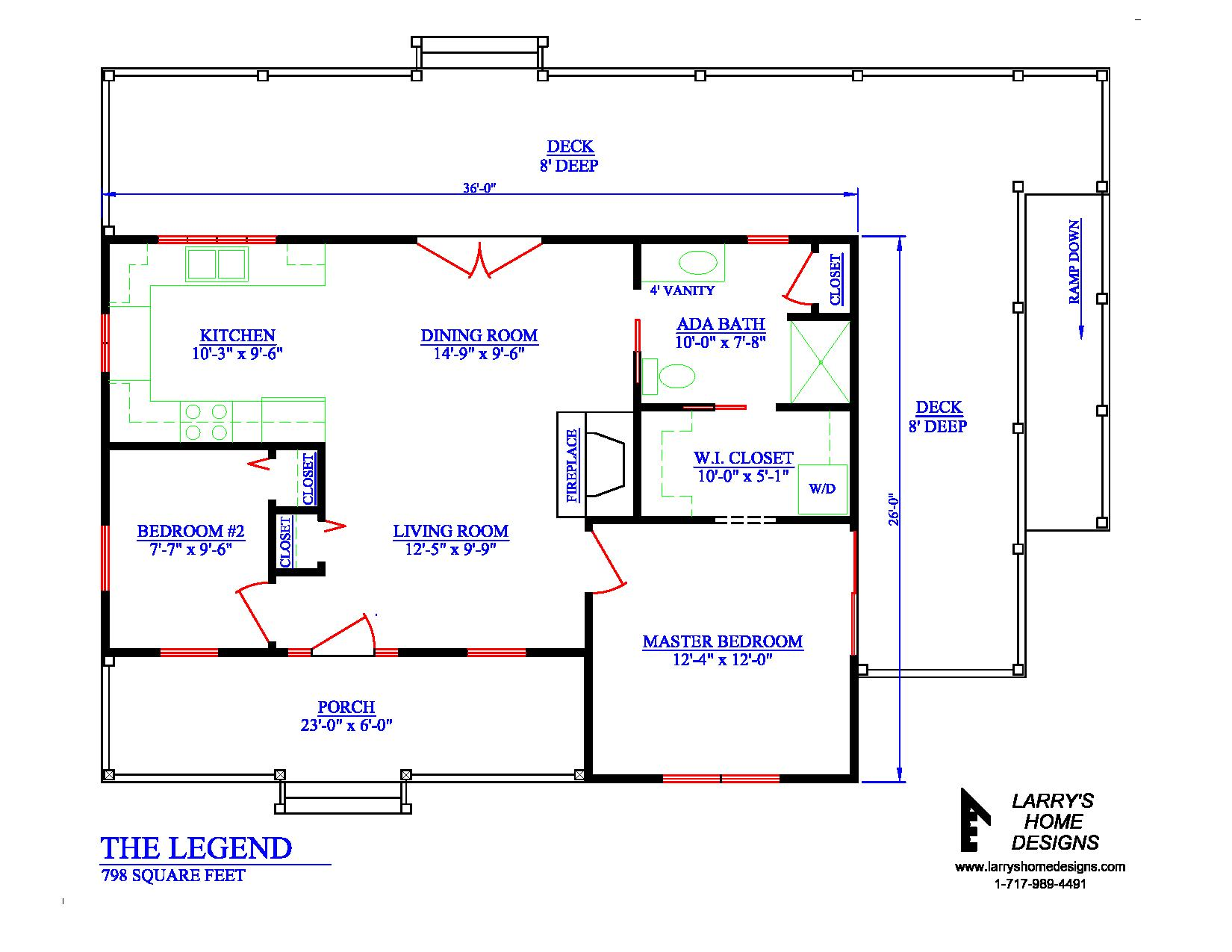 Wheelchair accessible tiny house plans enable your dream for Small handicap house plans