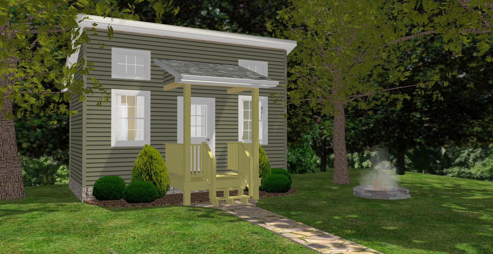 Tiny House Designs - The Bachelor on tiny house sketch up, tiny house fad, tiny house blueprints, tiny house 3d model,