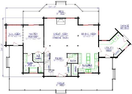 First Floor Presentation Floor Plans