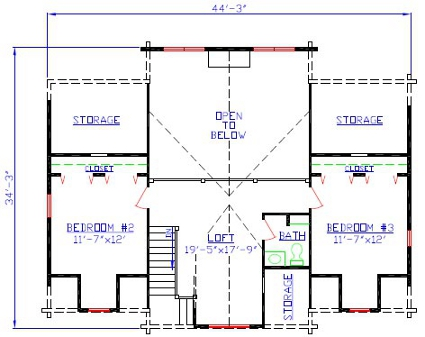 second floor presentation floor plans
