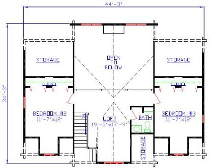 second floor presentation floor plans